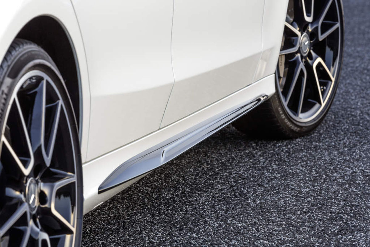 Exclusive amg accessories for the c class are available for Mercedes benz acc
