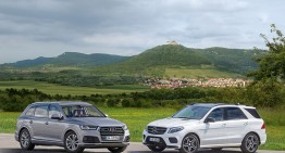 Mercedes-Benz GLE meets its newest competitor – the Audi Q7