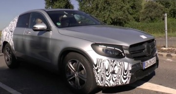 Mercedes-Benz GLC Coupe revealed in production guise (video)