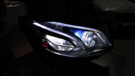 E-Class headlights