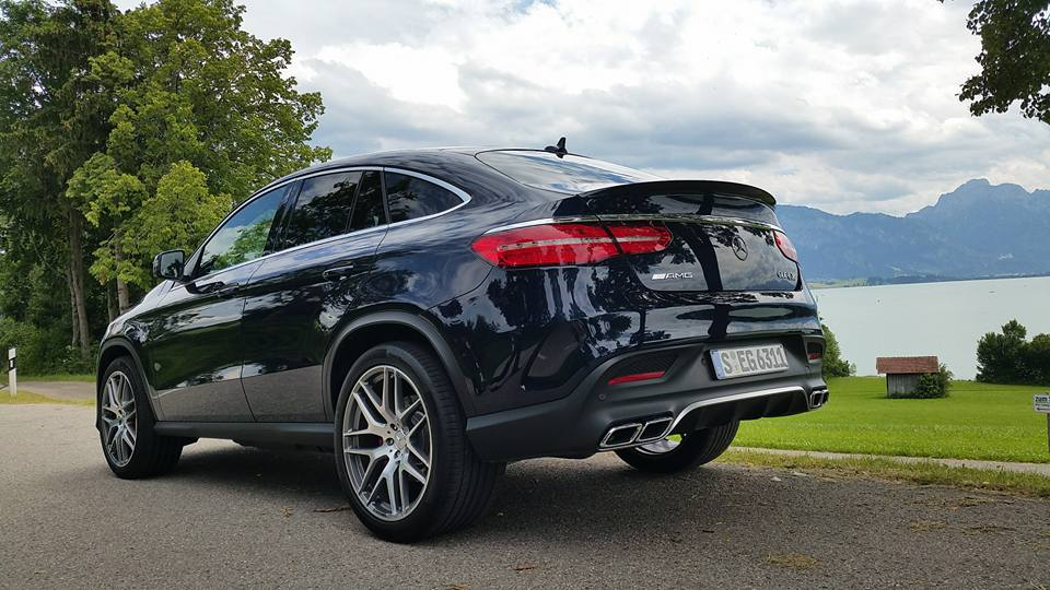 first test mercedes benz gle coupe driven in austria. Black Bedroom Furniture Sets. Home Design Ideas