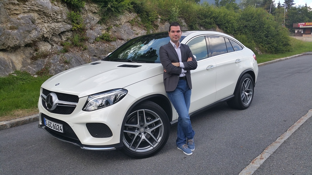 Primul Test Mercedes Benz Gle Coupe Live Din Austria on jurassic world mercedes coupe