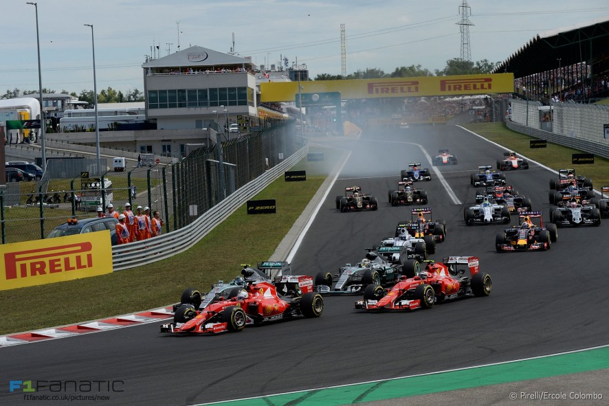 Formula One Hungary: Vettel comes in command