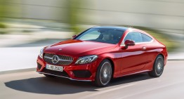 First trailer of the Mercedes-Benz C-Class Coupe