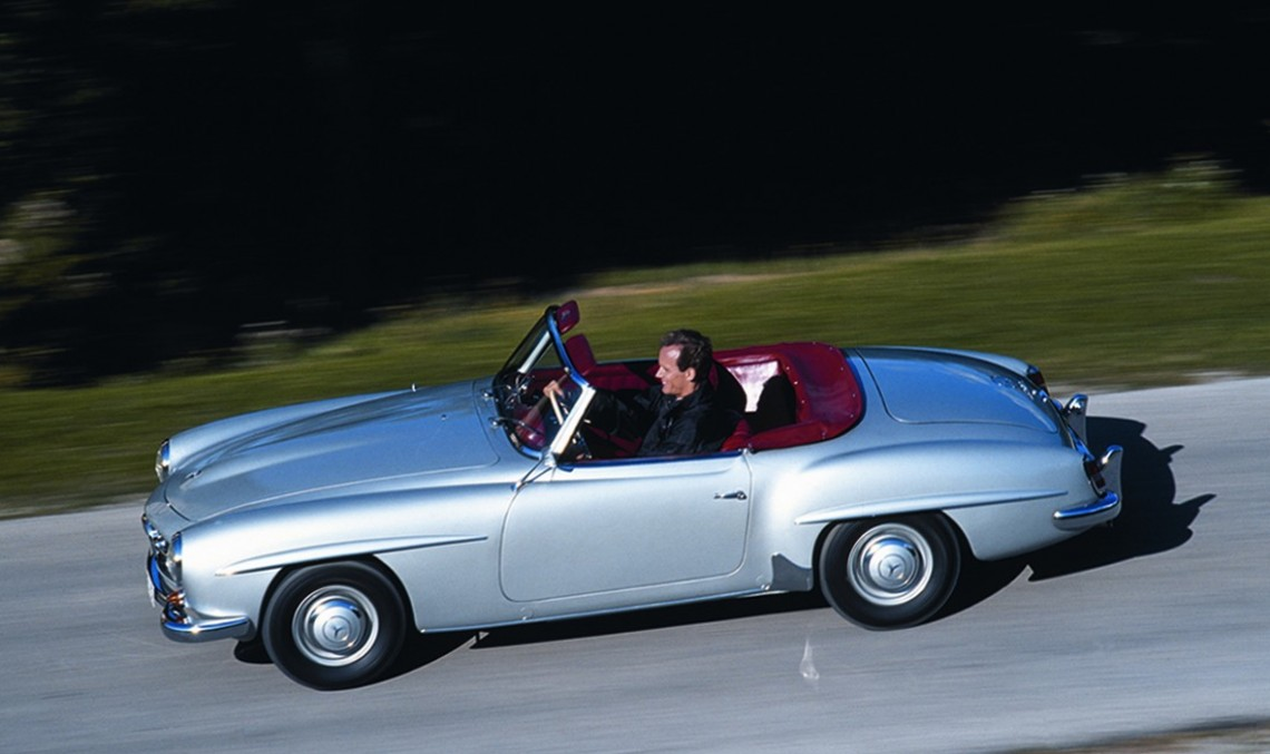 Legendary Mercedes-Benz 190 SL now eligible for Mille Miglia