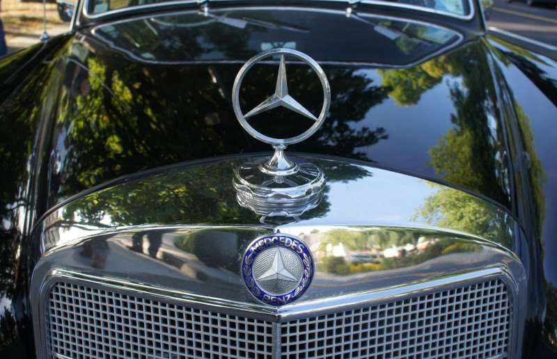 Around the world in a vintage Mercedes-Benz