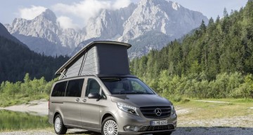 2015 Caravan Salon: the Mercedes-Benz vans are built for success