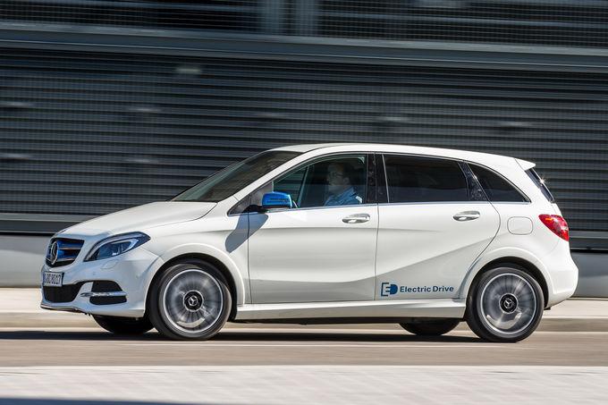 Mercedes B-Class Electric drive 7