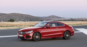 The new Mercedes C-Class Coupe: a compact S-Coupe