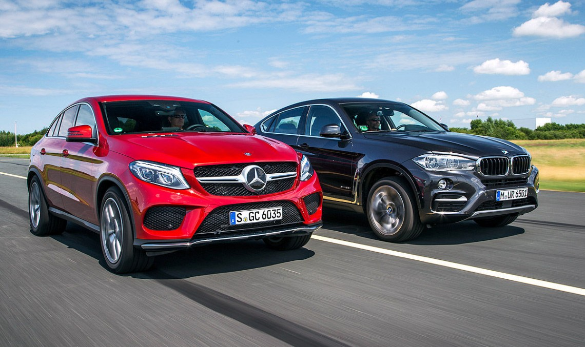 Mercedes Benz Gle Vs Bmw X6