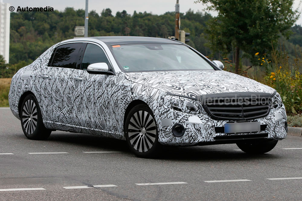 FIRST PICS. Mercedes-Maybach E-Class, ultra-luxury for the masses
