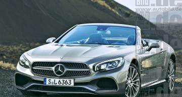 Mercedes SL/SLC facelift by AutoBild