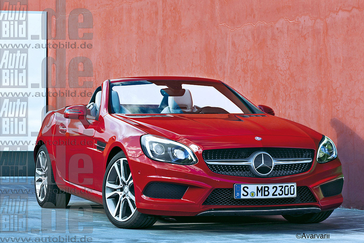 Mercedes SLC facelift