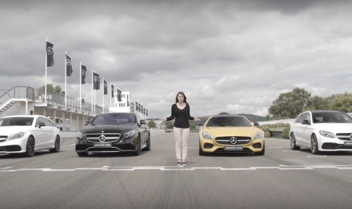 AMG BATTLE. Mercedes-AMG GT versus C 63, S 63 Coupe and CLS63 Shooting Brake