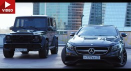 Clash of the titans. Mercedes-AMG S 63 Coupe vs Brabus 800 G 63