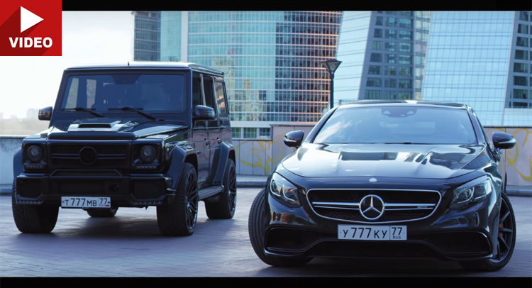 Clash of the titans. Mercedes-AMG S 63 Coupe vs Brabus 800 G 63