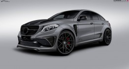 LUMMA CLR G 800 – The Mercedes GLE Coupe turning into a predator