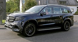 Mercedes-AMG GLS 63 gets ready to rule the world – first pics