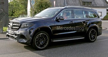 See the 2017 Mercedes-Benz GLS in motion