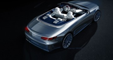 Official: the first sketch of the new Mercedes S-Class Cabrio