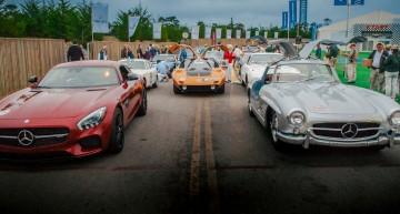 Mercedes-Benz shines at Pebble Beach 2015. LIVE PHOTO TOUR