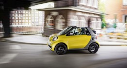 Prices announced for all-new smart fortwo cabrio