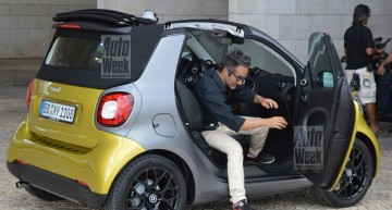 See the all-new smart fortwo Cabrio in production guise
