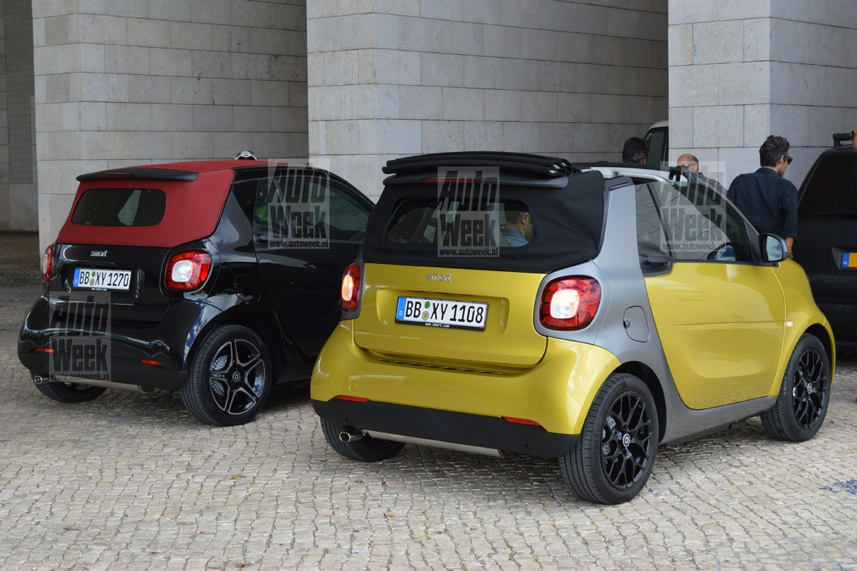 see the all new smart fortwo cabrio in production guise. Black Bedroom Furniture Sets. Home Design Ideas