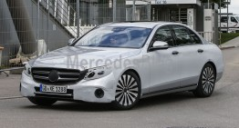 2016 E-Class revealed in explicit spy shots (interior included)