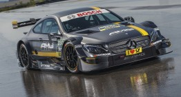 New Mercedes-AMG C 63 DTM faces last test session