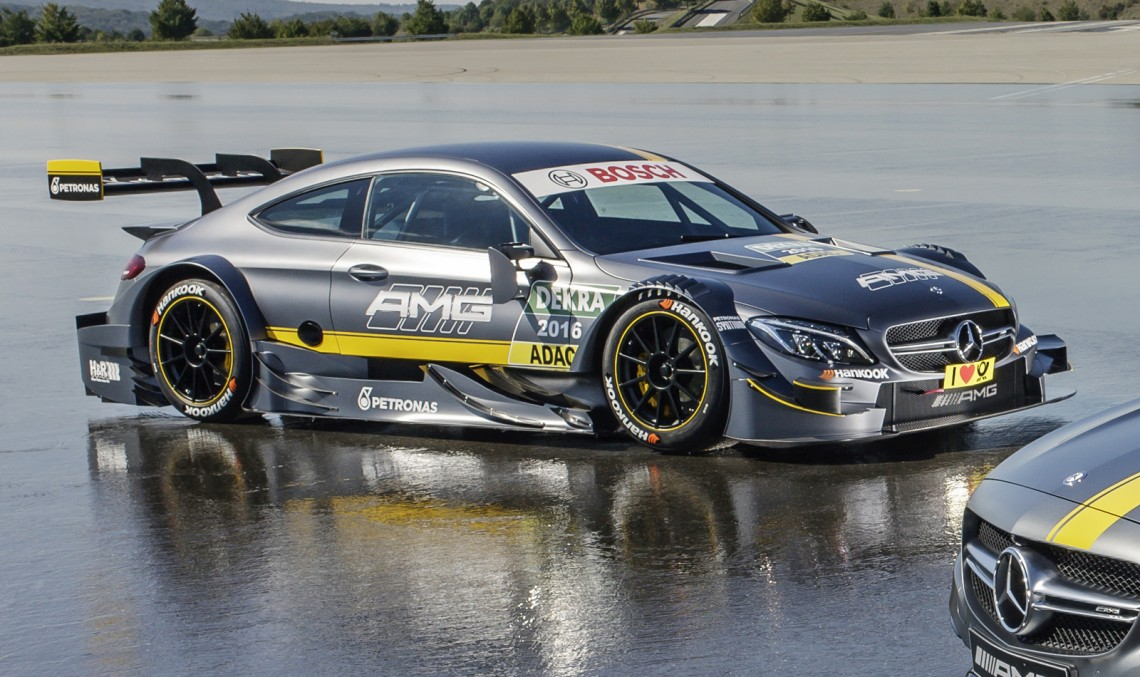 This is it! 2016 Mercedes-AMG C 63 DTM car goes official