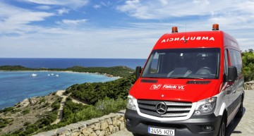 Mercedes-Benz vans take on medical emergency service in Barcelona
