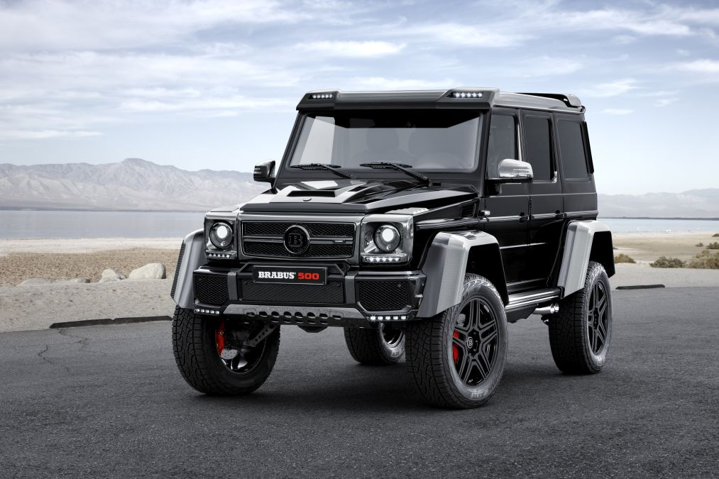 Brabus refines the Mercedes G 500 4×4²