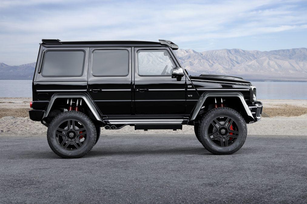 Brabus Mercedes G 500 4x4² (4)