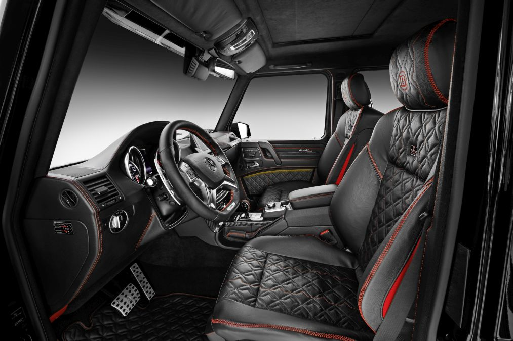 Brabus Mercedes G 500 4x4² (7)