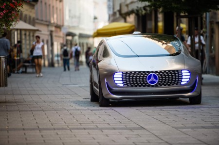 Der F 015 Luxury in Motion auf dem Ars Electronica Festival in Linz