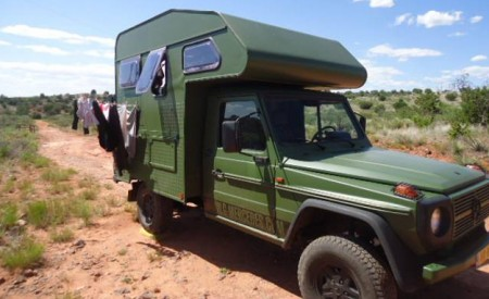 G-Class camper bulletproof
