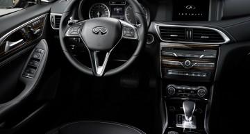 All-new Infiniti Q30 abuses Mercedes interior parts bin