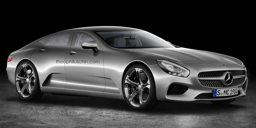 The Mercedes-Benz IAA Concept rendered in semi-productionised guise