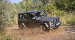 Adventure begins where roads end: the new Mercedes G-Class