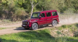 The new Mercedes G-Class: a living legend