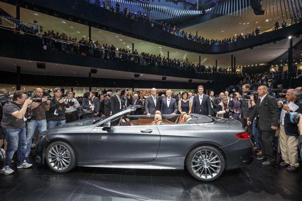 LIVE@IAA: Five Mercedes world premieres in Frankfurt