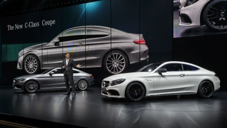 Mercedes-Benz Cars auf der IAA 2015Mercedes-Benz Cars at the IAA 2015