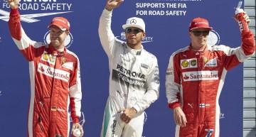 GP Italy qualifying: Hamilton is in command ahead of the Ferrari squad