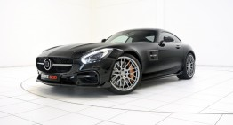Brabus Mercedes-AMG GT breaks cover before IAA debut