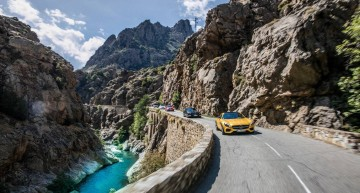 "Crisscrossing Corsica in the AMG ""Emotion Tour"""