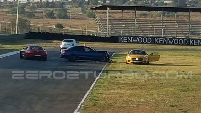 Mercedes-AMG GT crash caused by mad C 63 S is shocking