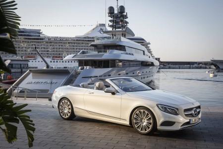 Mercedes-Benz S-Class Cabrio yacht
