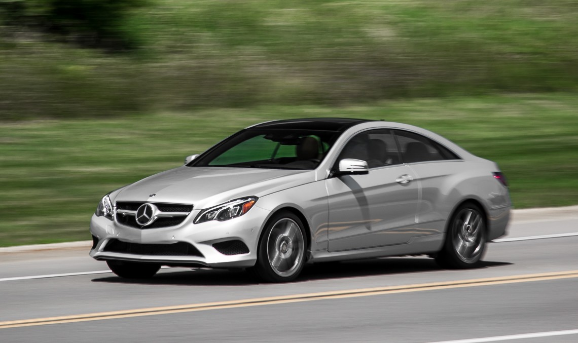 Mercedes benz e 400 4matic coupe shines in car driver test for Mercedes benz 400