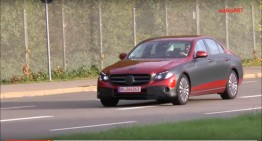 All-new 2016 Mercedes E-Class spied again on video